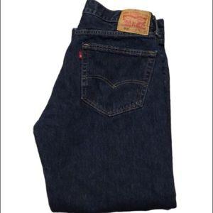 Levi's 505 Dark Blue Wash Men's Jeans